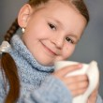 Lovely little girl — Stock Photo