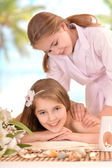 Lovely young girl — Stock Photo