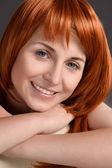 Meisje met rode haren — Stockfoto