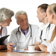 Doctors discussion — Stock Photo #30859283