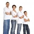 Happy family — Stock Photo #30859775