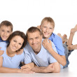 Cheerful family — Stock Photo #30860103