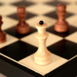 Stock Photo: Beauteous chess and chess board