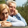 Stock Photo: Pleasant old people