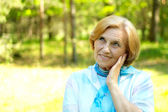Nice people on the nature — Stock Photo