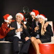 Christmas family holiday — Stock Photo