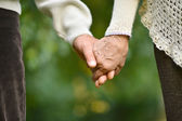 Hands held together — Stock Photo