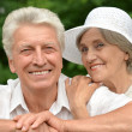 Happy old couple — Stock Photo #32395293