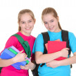 Girls with backpacks — Stock Photo #32399969