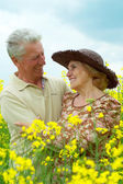 Charming old humans — Stock Photo