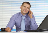 Pleasant young man — Stock Photo