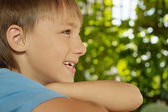 Charmante kleine jongen — Stockfoto