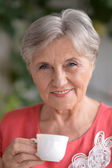 Attractive older woman — Stock Photo