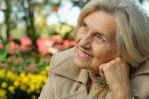Beautiful middle-aged woman — Stock Photo