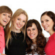 Four young girl  — Stock Photo