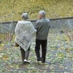 Happy elder couple — Stock Photo
