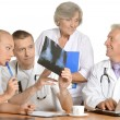Stock Photo: Team of doctors