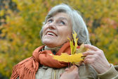 Attractive middle-aged woman — Stock Photo