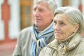 çekici yaşlı çift — Stok fotoğraf