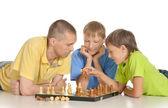 Giocare a scacchi — Foto Stock