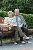 Elderly couple — Stock Photo