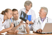 Team of doctors — Stock Photo
