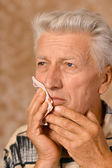 病気の老人 — ストック写真