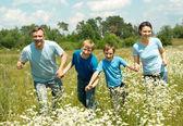 Good family having fun — Stock Photo