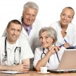 Best team of doctors — Foto Stock