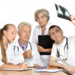 Stock Photo: Best team of doctors