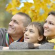 Beautiful happy family — Stockfoto #34305571