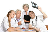 Best team of doctors — Stock Photo
