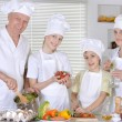 Dinner for the family — Stock Photo