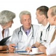 Foto Stock: Doctors discussion