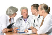 Doctors discussion — Stock Photo