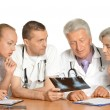 Stock Photo: Doctors discussion