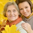 Mom and daughter for walk — Stock Photo #36628547