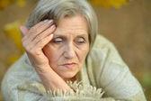 Старшие женщины на природе — Стоковое фото