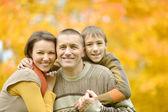 Famiglia insieme rilassante — Foto Stock
