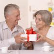 Senior couple spending time together — Stock Photo #37231527