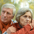 Friendly Mature couple — Stock Photo