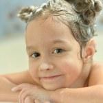 Little girl in bath — Stock Photo #37233403
