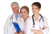 Médicos en oficina — Foto de Stock