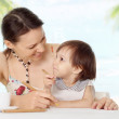 Mom with her baby — Stock Photo #39240057