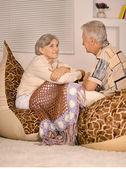 Krásná starší pár — Stock fotografie