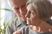 Счастливые Пожилые пары — Стоковое фото