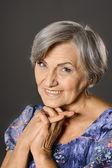 Belle femme âgée — Photo