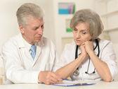 пожилые врачи — Стоковое фото