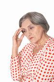 Portrait of a senior woman — Stock Photo