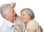 Happy older people — Stock Photo